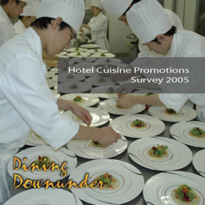 Global Survey Results on Hotel Cuisine Promotions