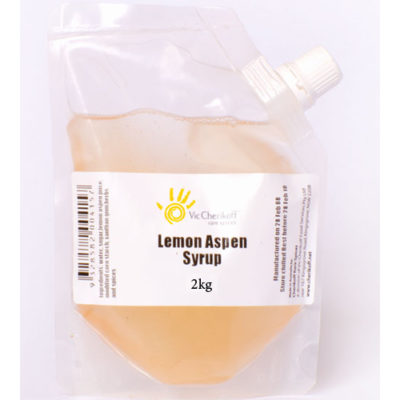Lemon Aspen Syrup (2kg)