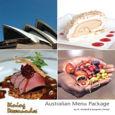 Australian Menu Package ebook